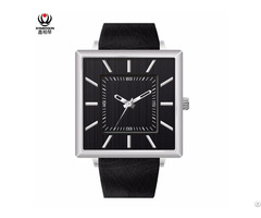 Xinboqin Fashion Simple Ultra Thin Square Student Unisex Wrist Watch