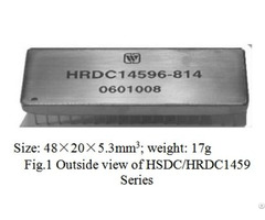Synchro Resolver To Digital Converters Hsdc Hrdc1459 Series