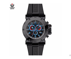 Xinboqin Custom Big Dial Creative Design Stainless Steel Sapphire Glass Men Wrist Watches Odm