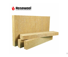 China Resin Bonded Slab Mineral Rock Wool For Sale