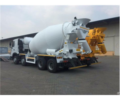 High Quality Howo A7 8x4 Mixer Truck With Cheap Price