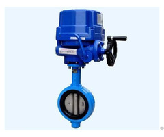 Motorized High Temperature Butterfly Valve