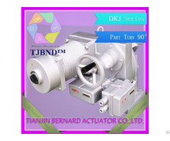 Dkj Part Turn Electric Actuator Manufacture From China