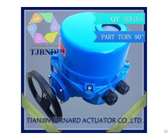 Qt Series Electric Actuator For Power Plant Butterfly Valve