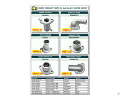 Cosmic Forklift Parts On Sale No 337 Water Inlet