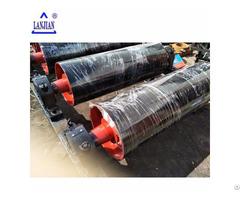 Large Conveying Capacity Pipe Belt Conveyor Stainless Steel Drive Bend Drum Pulley
