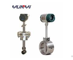 Gas Liquid Steam Vortex Flowmeter Water