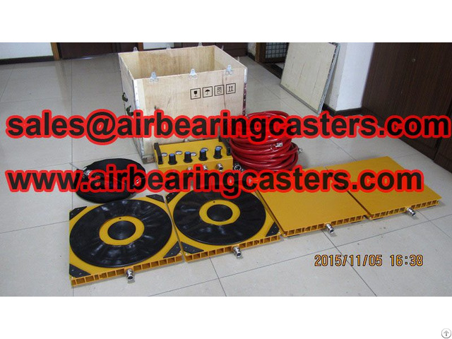 Air Caster Systems Can Move Your All Kinds Of Heavy Duty Equipment Easily And Economic
