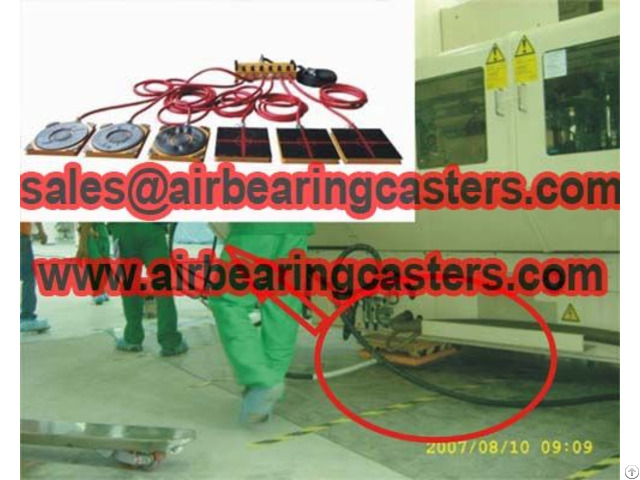 Air Bearings And Casters Is Durable Can Works For More Than 10 Years With No Matter