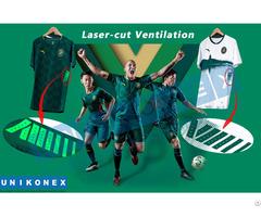 Laser Cut Ventilation In Sportswear