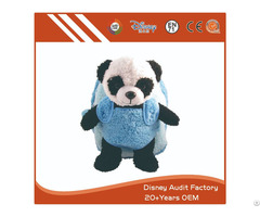Plush Panda Backpack For Kids