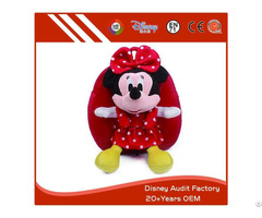 Plush Minnie Backpack