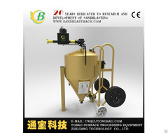 Product 2018 Best Offer Sand Blasting Manual Fixed Turntable Type Machine Cabinet For Mould