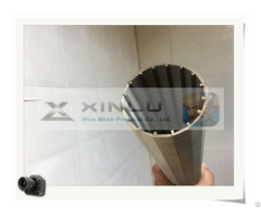 Woven Wedge Wire Strainer Screen