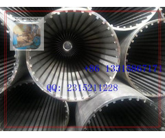 V Wire Strainer Pipe Spiral Screen Tube