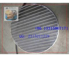 Welded Wedge Wire Screen Plate