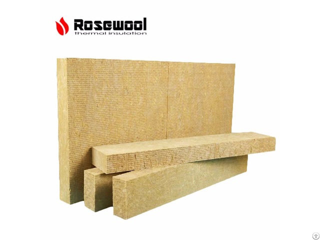 Fireproof Building Construction Materials Wall Insulation Mineral Rock Wool