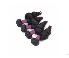 9a Peruvian Loose Tight 4 Bundles Human Virgin Hair Weave