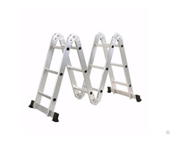 4x3 Aluminum Multi Purpose Folding Ladder Small Hinge