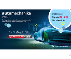 China Lutong Manager Participate In Automechanika Dubai 2018