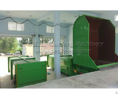 Horizontal Detachable Waste Compress Equipment