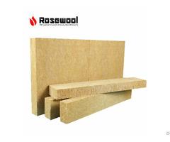 Firproof Heat Insulation Rock Wool Density 120kg M3