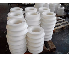 Customized Uhmwpe Flame Retardant Conveyor Roller Pulley
