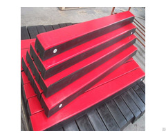Uhmwpe Wear Resistant Impact Bar For Conveyor System