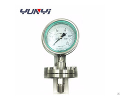 Glycerine Or Silicone Oil Filled Water Diaphragm Pressure Gauge