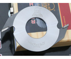 Hard Alloy Tipped Cutter For Construction Wood 210 Mm