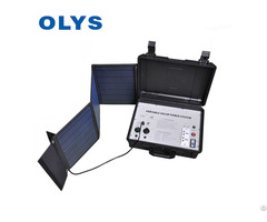 Olys Solar Emergency Power Supply