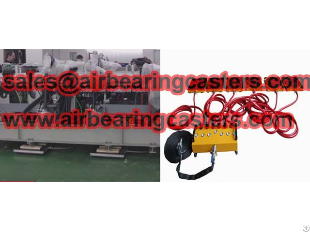 Modular Air Caster Systems Details With Pictures
