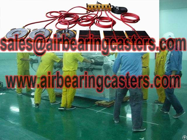 Air Caster System Manual Instruction