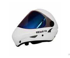Fiberglass Longboard Helmet Extreme Sports Skateboard Downhill Mask Head Gear