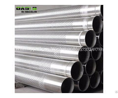 Stainless Steel Casing Pipe 18mm Perforated Tube