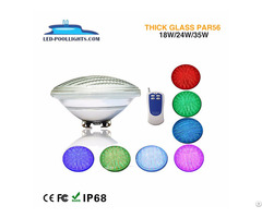 Par56 Thick Glass Led Underwater Pool Light