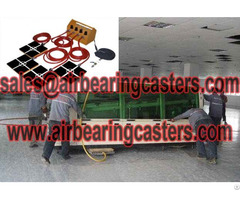 Air Pads For Moving Equipment Advantages
