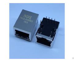 We 7499010441 Through Hole 10 100 Base T Automdix Rj45 Magnetic Modular Jacks