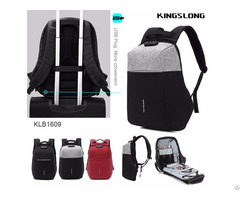Trendy Anti Theft Backpack With Usb Recharge