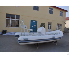Lian Aluminum Hull Inflatable Rib Boat For Fishing