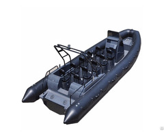 Lianya Speed Fiberglass Rib Boat For Navy