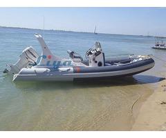 Lianya Fiberglass Inflatable Rib Fishing Boat