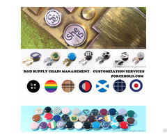 Personalized Patterns Button Covers For Gentlemen S Shirts Suits