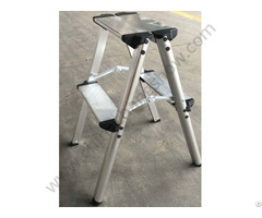 Double Side Aluminum Step Ladder Stool