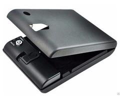 Car Security Mini Biometric Handgun Safe