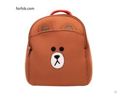 Children Kids Mini Cartoon School Shoulder Backpack For Pencil Bag