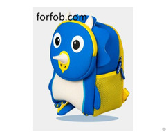 Stylish Light Cartoon Soft Plush 3d Animal Toddler Daily Kids Backpack School Bag