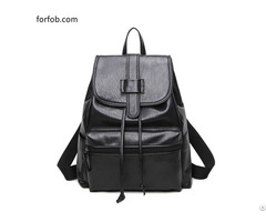 Tenderness Feeling Genuine Leather Fashion High Quality Backpack Purse