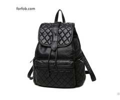 Chinese Imports Wholesale Uk Style Online Store Personalized Fashion Black Backpack Purse Ladies Bag