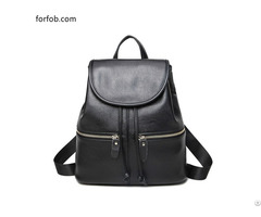 Leather Backpacks Purse For Women Ladies Fashion Travel Shoulder Bag